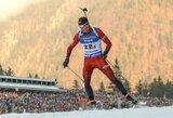 Sėkmė Europos biatlono čempionate: K.Dombrovskis pranoko olimpinius prizininkus