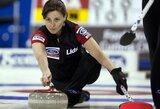 Pasaulio moterų kerlingo čempionato finale susitiks Švedijos ir Šveicarijos rinktinės