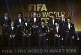 Paskelbta FIFA/FIFPro metų komanda