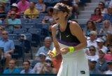 """""""US Open"""" pusfinalyje – niekada jame nežaidusios tenisininkės"""