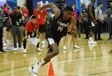 K.Antetokounmpo atsisakė pasirodyti likusioms komandoms, bet lieka NBA naujokų biržoje