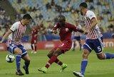 """""""Copa America"""" turnyre – rezultatyvios Paragvajaus ir Kataro lygiosios"""