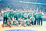 """Antrus metus iš eilės LKL čempionais tapo """"Žalgirio"""" krepšininkai"""