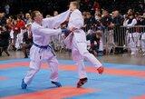 Europos olimpinės karatė čempionate geriausiai tarp lietuvių sekėsi R.Jurgilaičiui ir G.Marozaitei (papildyta)