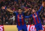 """UEFA pripažino: teisėjas pridarė klaidų, kai """"Barcelona"""" kūrė stebuklą prieš PSG"""