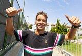 Ilgai lauktas medalis olimpiniame festivalyje: tenisininkas V.Gaubas pateko į finalą!