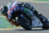 """M.Marquezas krito nuo motociklo ir užleido """"MotoGP"""" lyderio poziciją J.Lorenzo"""