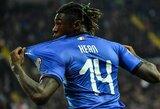 """Italijos rinktinės rekordą pagerinęs M.Keanas dėkojo """"Juventus"""" žvaigždei C.Ronaldo"""