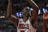 """""""Bulls"""" sezono atradimas įkvėpė Čikagos krepšininkus triuškinamai pergalei prieš """"Knicks"""""""
