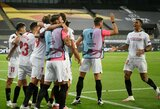 """Progų neišnaudojusį """"Man Utd"""" eliminavusi """"Sevilla"""" pateko į Europos lygos finalą"""