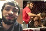 """""""UFC 229"""" skandalas kitu kampu: C.McGregoras vožė Z.Tuchugovui į galvą"""
