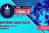 NKL finalinis ketvertas antrus metus paeiliui vyks Jonavoje