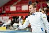Paskutinį Lietuvos fechtavimo čempionato etapą laimėjo V.Ažukaitė ir J.Kinderis