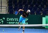 Beveik visi lietuviai gerino pozicijas ATP tenisininkų reitinge