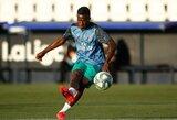 """Jaunoji """"Real"""" žvaigždė Viniciusas: """"Neymaras yra mano įkvėpimas"""""""