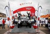 """""""Samsonas Rally Rokiškis"""" žiūrovai pirmą kartą išvydo Dakaro bolidus"""