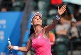 Nė vieno seto nepralaimėjusi A.Radwanska tapo teniso turnyro Kinijoje čempione