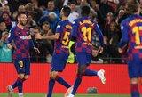"""Argentiniečio svarbą išskyręs """"Barcelonos"""" strategas E.Valverde: """"Yra neįmanoma nepriklausyti nuo L.Messi"""""""