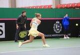 WTA vienetų reitinge – lietuvių nuosmukis