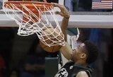 Gražiausius NBA dienos epizodus kūrė jauni lygos talentai