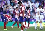 """Pirmieji A.Griezmanno trūkumo požymiai? """"Atletico"""" užfiksavo blogiausią žaidimą puolime per pastaruosius 15 metų"""