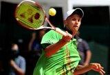 J.Tverijonui nepavyko patekti į vyrų teniso turnyro Turkijoje pusfinalį