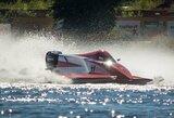 """Pasaulio """"Formulės 2"""" motorlaivių čempionate E.Riabko pasirodymą užbaigė avarija"""