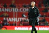 """J.Mourinho: """"Niekada nebuvo galimybės, kad į """"Man United"""" sugrįš C.Ronaldo"""""""