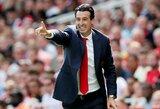 """Prieš artėjantį mūšį pajuokavęs U.Emery: """"Mes niekada nenorime susitikti su """"Liverpool"""""""