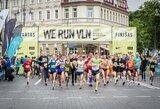 """Vilniuje praūžė tarptautinis bėgimo renginys """"We Run Vilnius"""""""