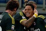 """""""Lazio"""" nugalėjęs """"Milan"""" klubas vejasi lyderius"""