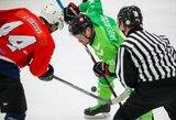 Antradienį Kaune gali paaiškėti pirmieji ledo ritulio čempionato finalo dalyviai