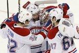 """""""Canadiens"""" ledo ritulininkai padovanojo pirmą pergalę naująjam treneriui"""