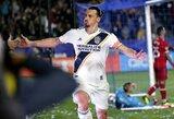 Z.Ibrahimovičius priartėjo prie MLS lygos rekordo