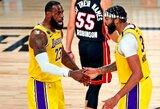 "NBA finalas startavo lengva ""Lakers"" pergale"