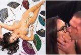 Draugystė baigėsi? K.Pulevo pabučiuota žurnalistė pasisamdė advokatę ir reikalauja suspenduoti boksininką