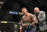 D.Poirier pasakė, kodėl jam buvo svarbu iškovoti laikinąjį UFC čempiono titulą