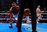 A.Joshua pralaimėjimas A.Ruizui – trečia didžiausia sensacija sunkiasvorių bokse per 45 metus
