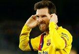 Klubai jau skaičiuoja, kiek kainuotų įsigyti L.Messi