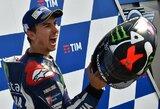 """J.Lorenzo po keturių mėnesių pertraukos laimėjo """"MotoGP"""" kvalifikaciją"""
