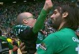 """""""Celtic"""" aukso medaliu pasidalino su mažuoju savo ekipos fanu"""