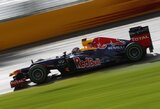 S.Vettelis nėra patenkintas bolido greičiu