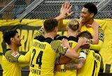 """6 įvarčių fiesta Vokietijoje baigėsi """"Borussia"""" pergale prieš """"Union"""" futbolininkus"""