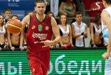"""M.Kalnietis svariai prisidėjo prie """"Lokomotiv-Kuban"""" pergalės"""
