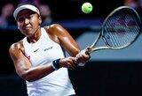 Kinijoje prasidėjo prestižinis aštuonių geriausių pasaulio tenisininkių turnyras