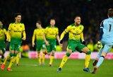 """Baudinių seriją laimėję """"Norwich"""" išmetė """"Tottenham"""" iš FA taurės"""