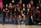 """""""Clippers"""" krepšininkai ketvirtajame kėlinyje jautė stiprų nuovargį"""