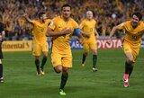 Australija grasina boikotuoti pasaulio čempionatą Rusijoje
