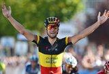 Dviratininkas E.Juodvalkis Belgijoje finišavo 49-as, nugalėjo T.Boonenas