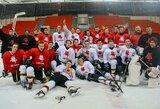 Paaiškėjo galutinė Lietuvos jaunių ledo ritulio rinktinės sudėtis pasaulio čempionatui Rumunijoje